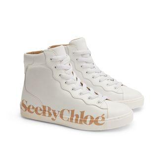 See By Chloé Essie sneakers i skinn, dam