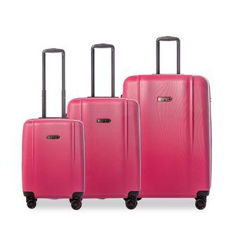 Epic Pop Neo 3-set hårda resväskor, 4 hjul, 55/65/75 cm