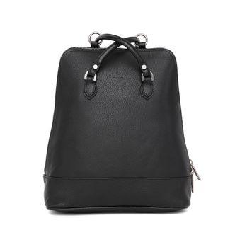 Adax Lina liten ryggsäck i skinn