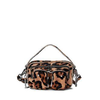 Nunoo Helena Hair-On liten handväska i skinn