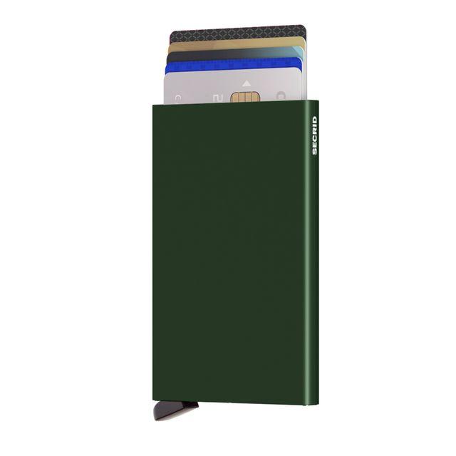 Secrid Cardprotector korthållare i metall, 6 kortfack