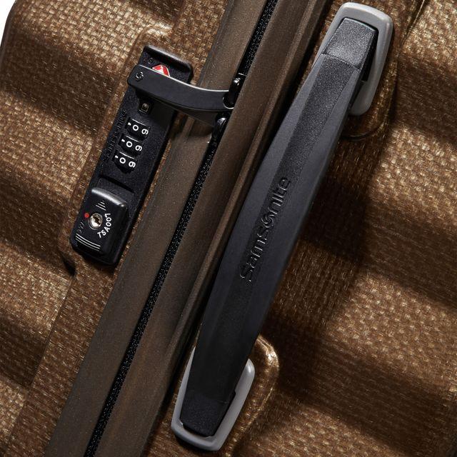 Samsonite Lite-Shock hård resväska, 4 hjul, 75 cm