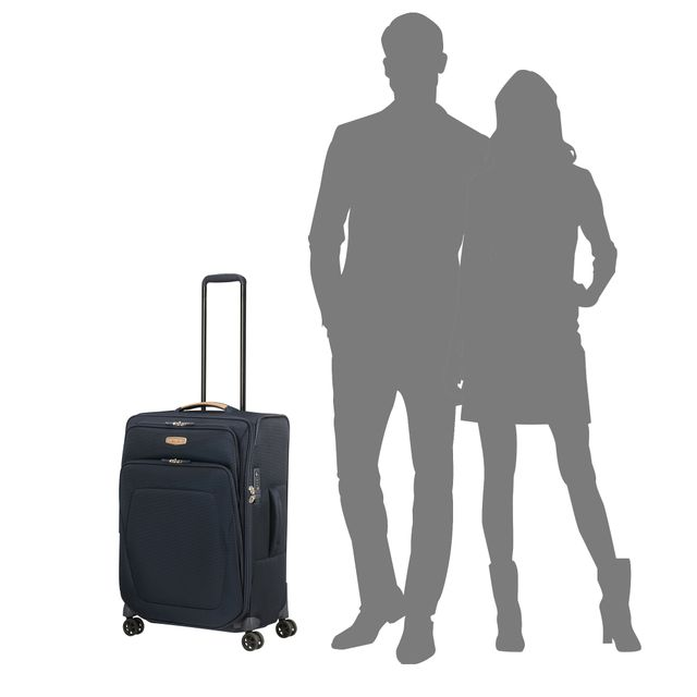 Samsonite Spark SNG ECO expanderbar resväska, 4 hjul, 67 cm
