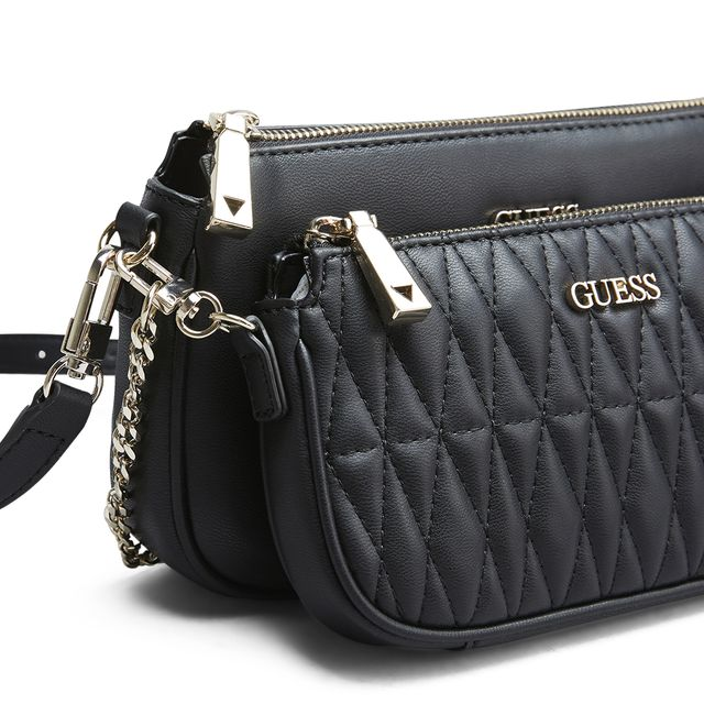 Guess Arie Double Pouch axelremsväska
