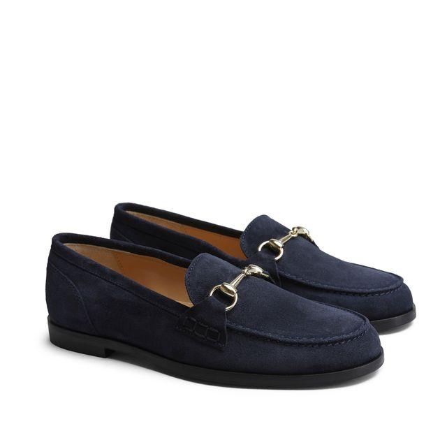 Rizzo Elisea loafers i mocka, dam