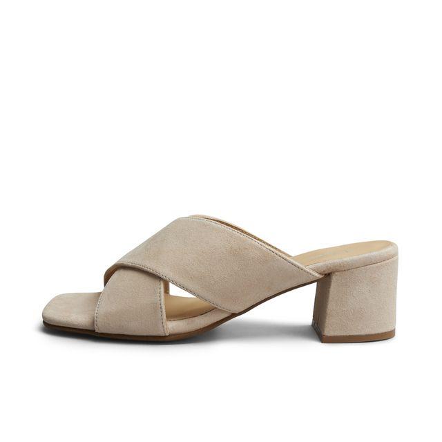 Rizzo Clara slip-in sandaler i mocka, dam