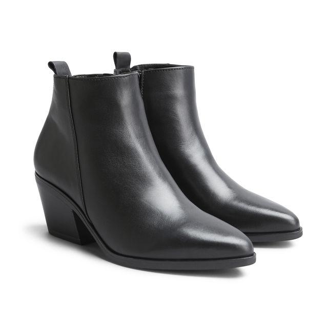 Gabor 56.690 boots i skinn, dam