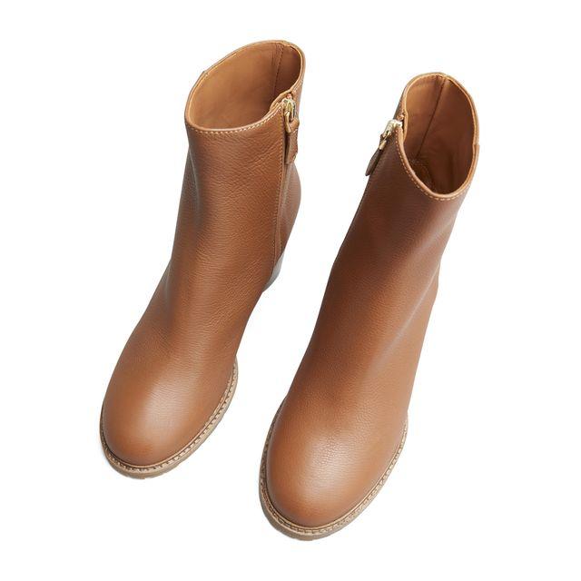 Rizzo Celine boots i skinn, dam