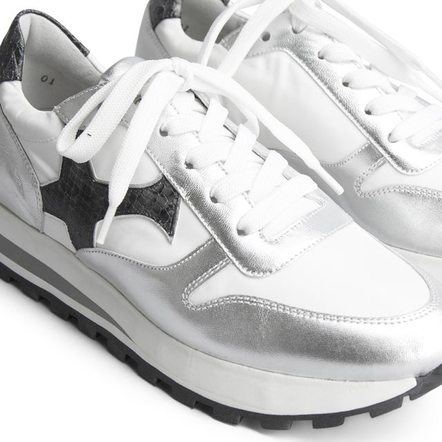 Peter Kaiser Felipa sneakers i skinn, dam