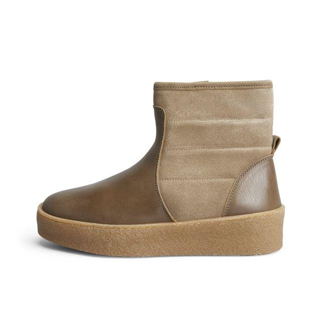 Rizzo Olivia fodrade boots i skinn, dam