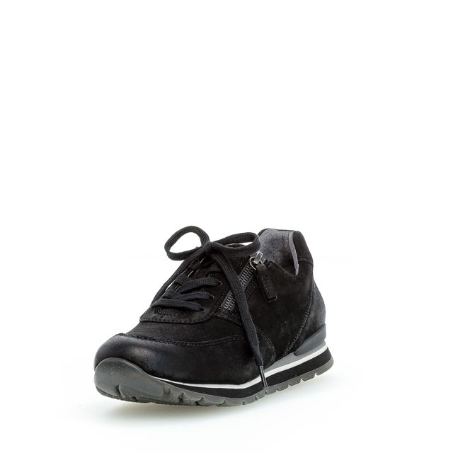 Gabor 56.369.47 sneakers i mocka, dam