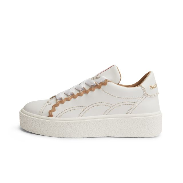 See By Chloé Sevy sneakers i skinn, dam