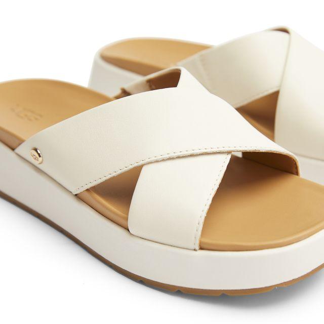UGG Emliy slip-in sandaler i skinn, dam