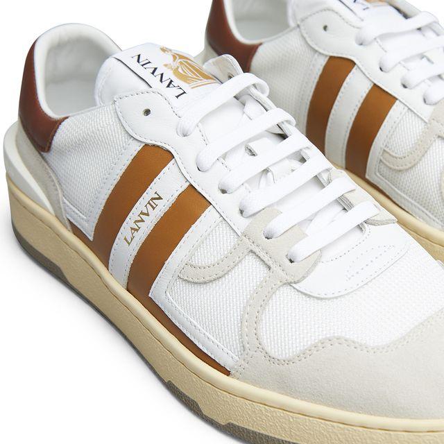 Lanvin Tennis Top sneakers i skinn, herr