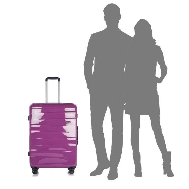 Epic Vision hård resväska, 4 hjul, 75 cm
