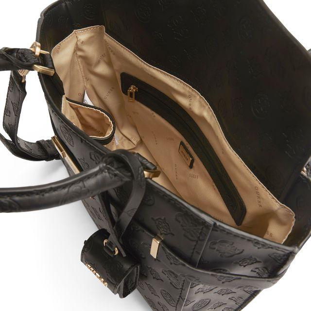 Guess Bea Society Satchel handväska
