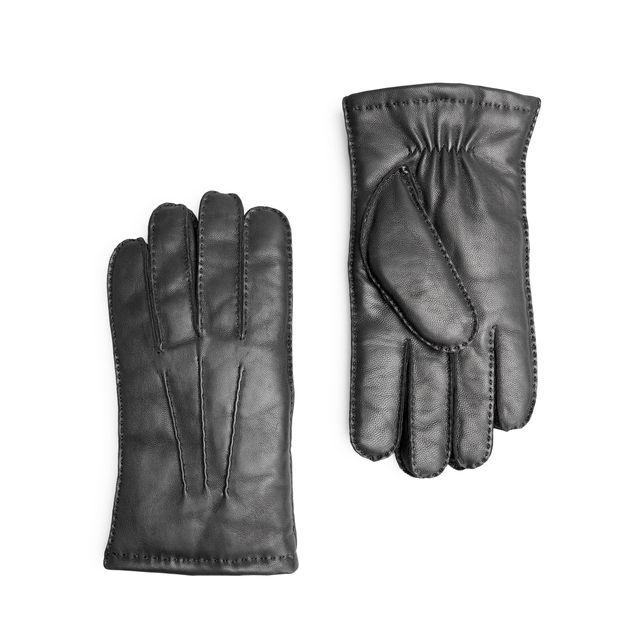 Handskmakaren Livorno handskar i skinn, varmfodrad, herr
