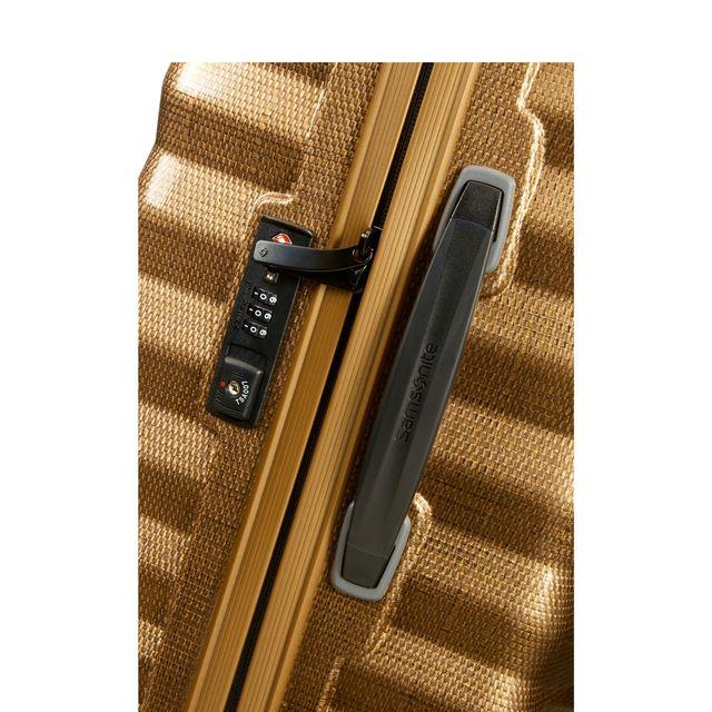 Samsonite Lite-Shock hård kabinväska, 4 hjul, 55 cm