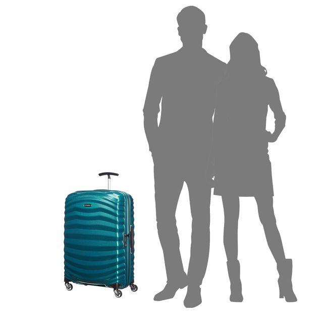 Samsonite Lite-Shock hård resväska, 4 hjul, 69 cm