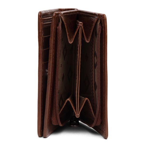 ADAX Ninni plånbok i skinn