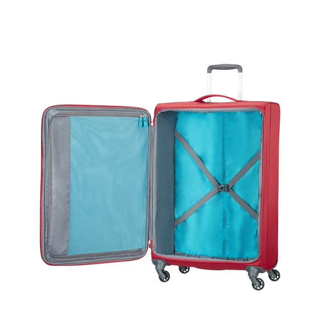 American Tourister Herolite mjuk resväska, 4 hjul, 74 cm
