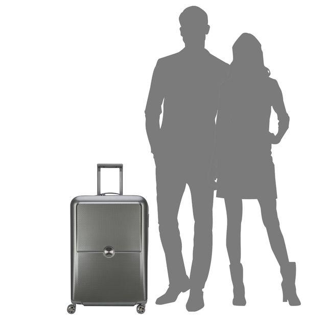 Delsey Turenne hård resväska, 4 hjul, 70 cm