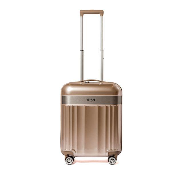 Titan Spotlight 3-set hårda resväskor, 4 hjul, 55/67/76 cm