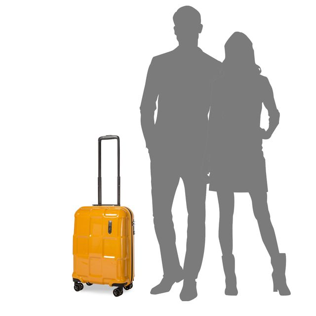EPIC Crate EX Solids hård kabinväska, 4 hjul, 55 cm