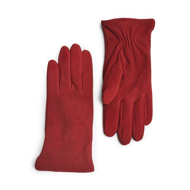 Handskmakaren Faenza handskar i mocka, dam