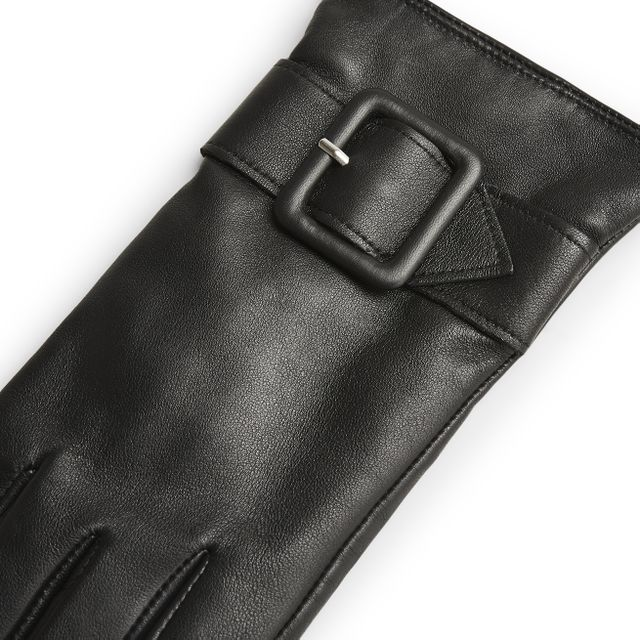 Handskmakaren Battipaglia handskar i skinn, dam