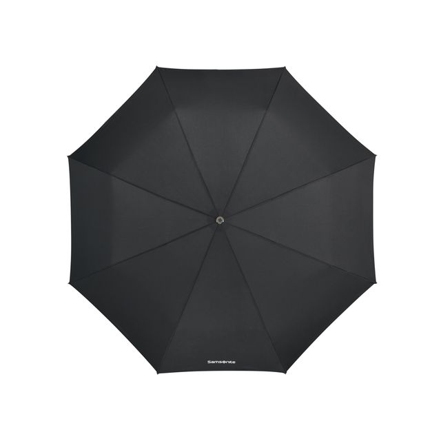 Samsonite Wood Classic S paraply, automatisk uppfällning