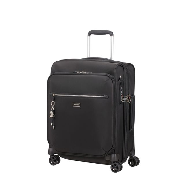 Samsonite Karissa Biz expanderbar resväska, 4 hjul, 55 cm