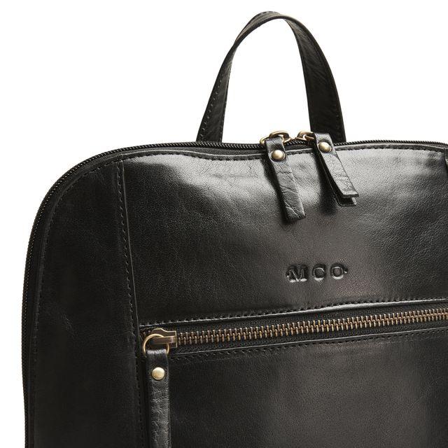 MCO Mona ryggsäck i skinn