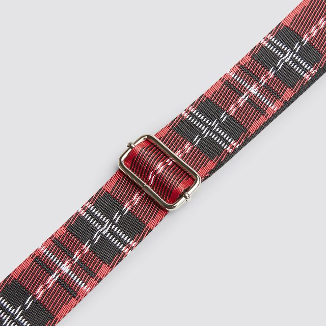 Don Donna Frances Check Strap axelrem