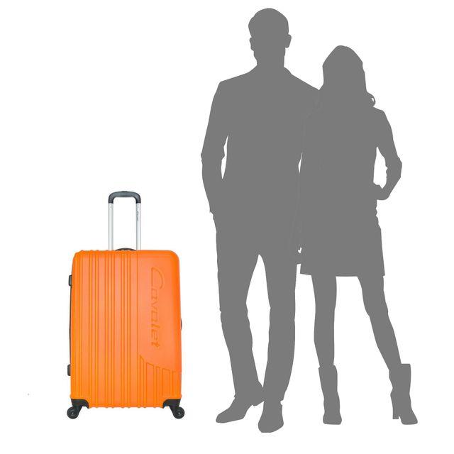 Cavalet Malibu hård expanderbar resväska, 73 cm