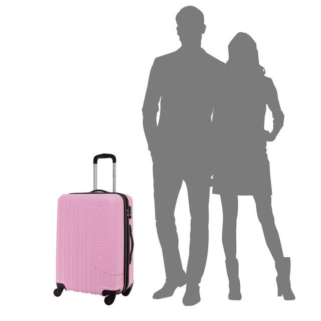 Cavalet Malibu x Rosa Bandet resväska, 64 cm