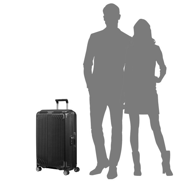 Samsonite Lite-Box resväska med 4 hjul, 69 cm