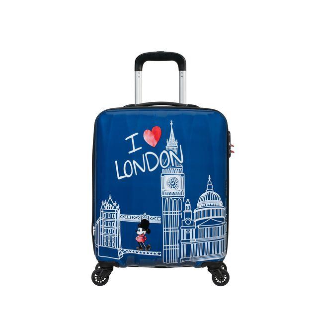 American Tourister Disney Musse Pigg London resväska, 55 cm