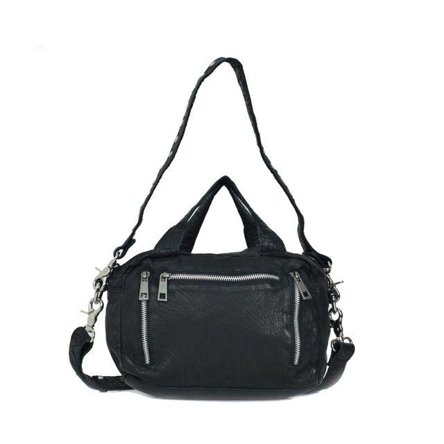 Nunoo Donna Washed handväska i skinn