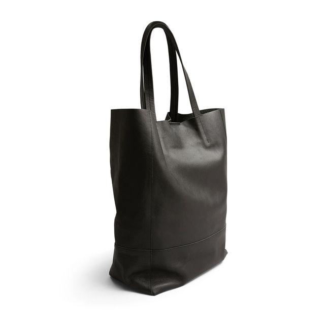NYPD shopper handväska i skinn