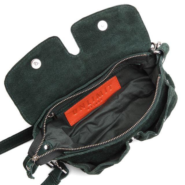Unlimit Ellery handväska i mocka