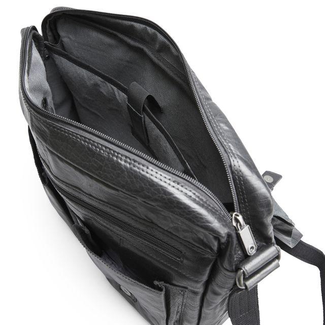 Spikes & Sparrow axelremsväska med datorfack, 15 tum