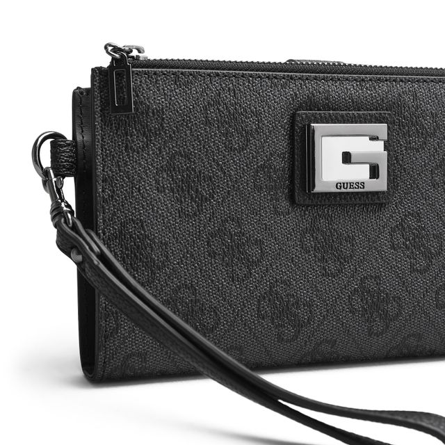 Guess Valy Double Zip plånbok