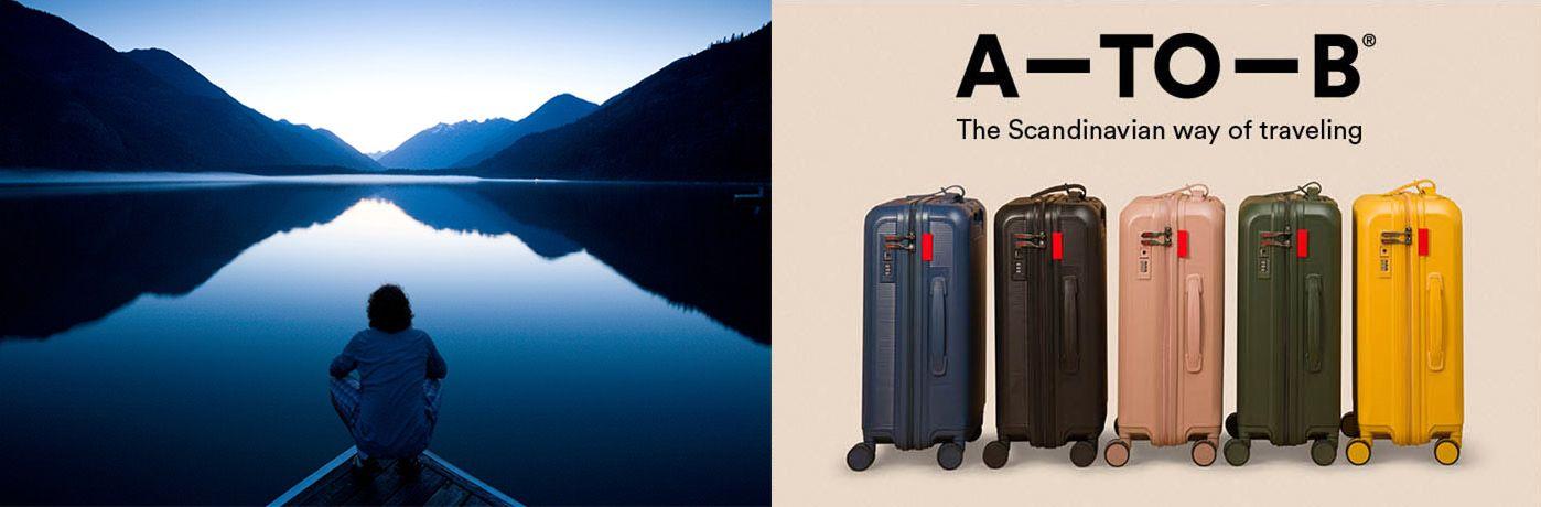 A-TO-B världens bästa resväska