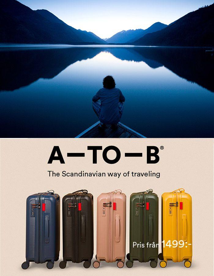 A-to-B resväskor, världens bästa resväska