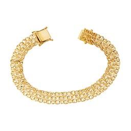 Armband i 18K guld 19cm