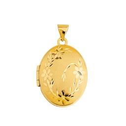 Medaljong i 18K guld