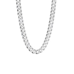 silverlänk halsband herr