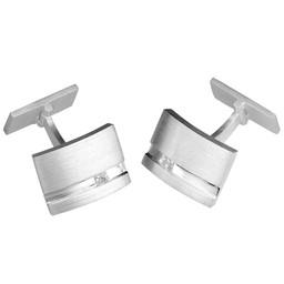 Manschettknappar i äkta silver
