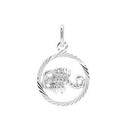 Vackert skorpionen hängsmycke i äkta silver.